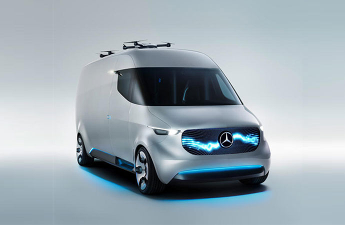 The Mercedes-Benz Vision Van.