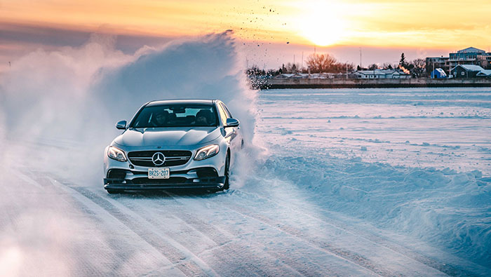 MBCAN Mercedes AMG Winter Driving Academy Pro Course Image