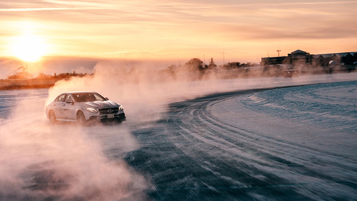 MBCAN Mercedes-AMG Winter Driving Academy Performance Course Image