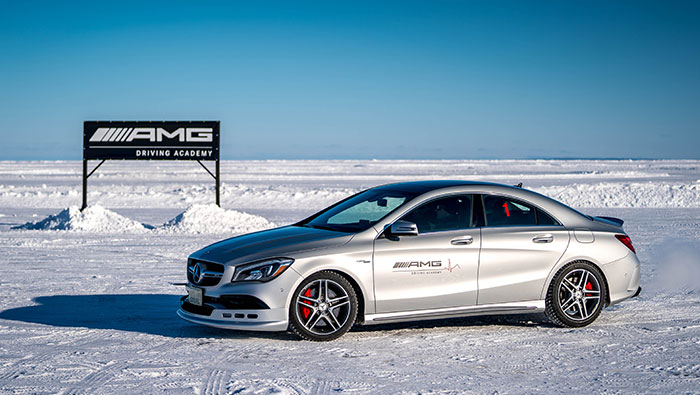 MBCAN Mercedes-AMG Winter Driving Academy Advanced Course Image
