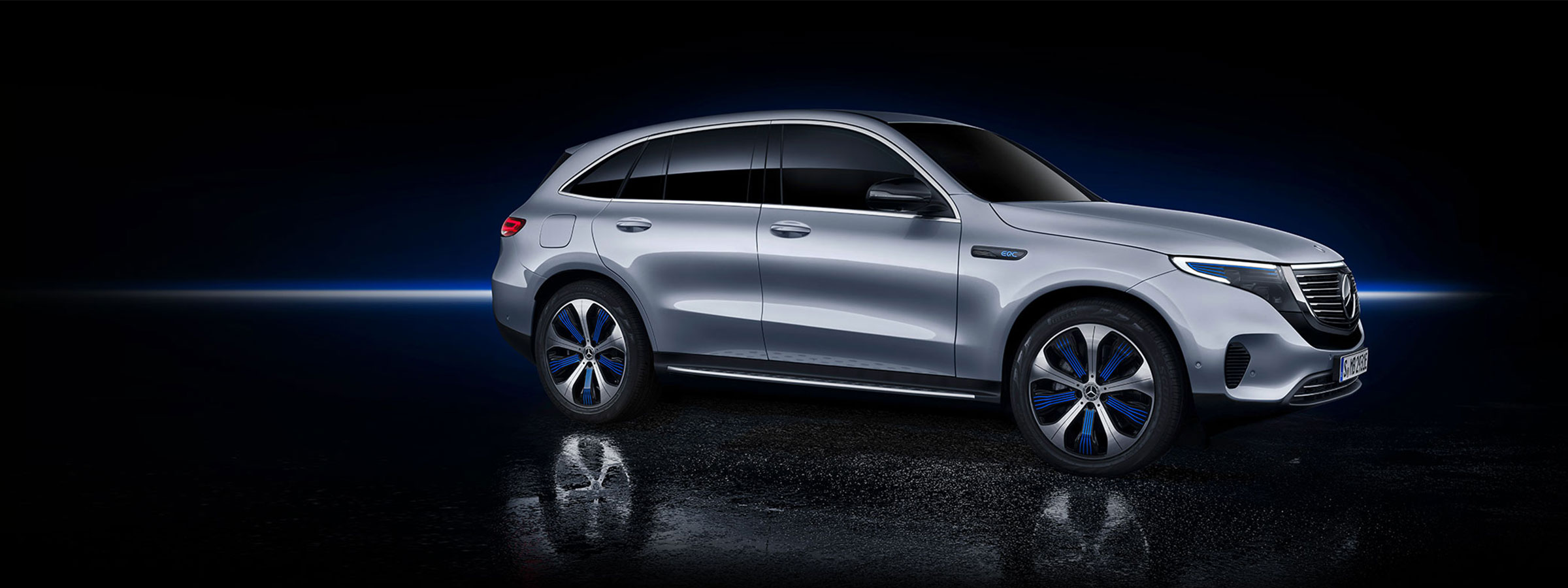 Mercedes-Benz EQC electric vehicle hero image
