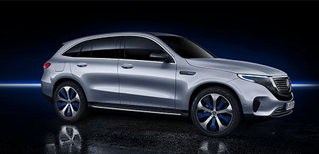 The Mercedes-Benz EQC