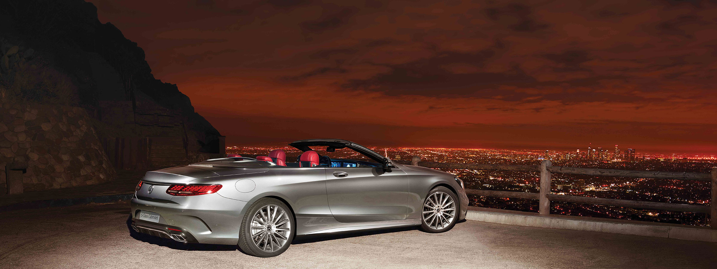 2018 S-Class Cabriolet Campaign Hero Carousel Image