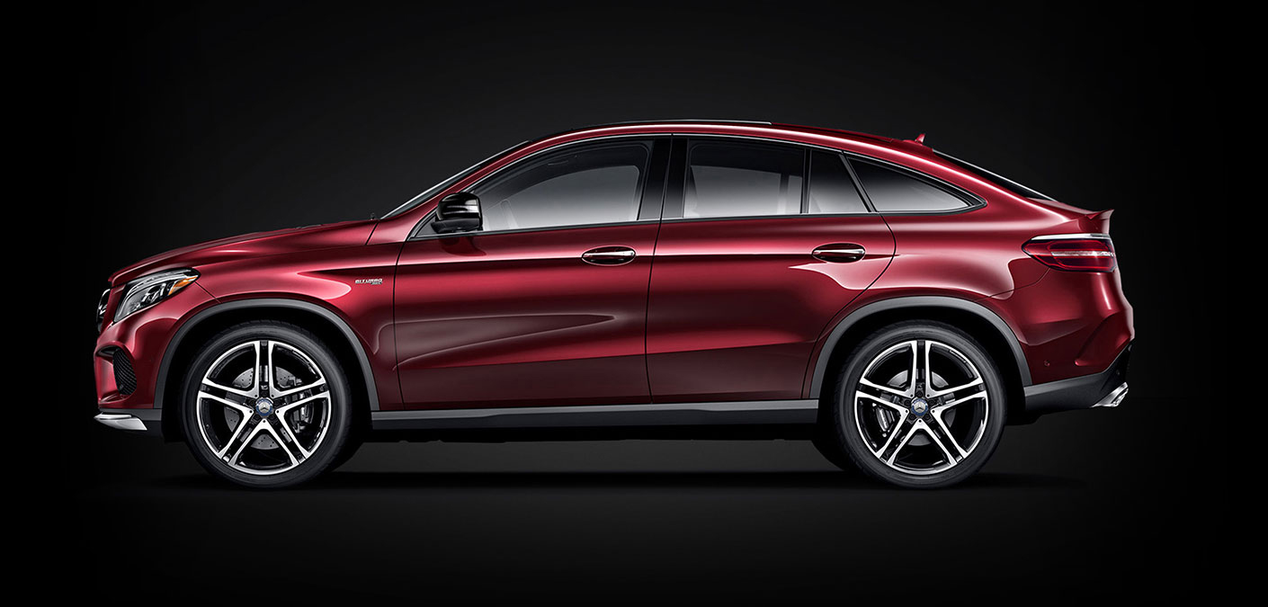 Mercedes-AMG GLE Coupe Design