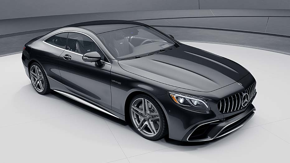 Breathtaking coupe design AMG S63
