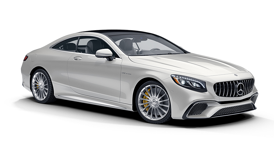 Breathtaking coupe design AMG S65