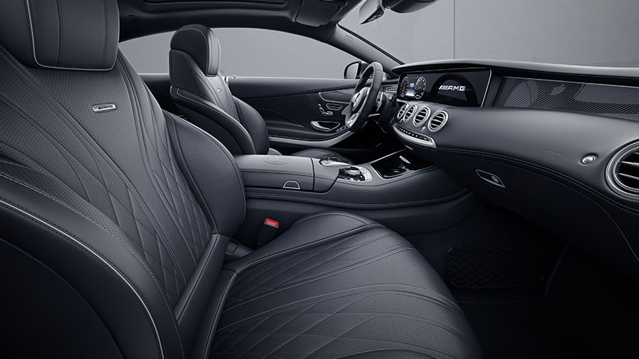 Drive Dynamic multicontour front seats AMG S65