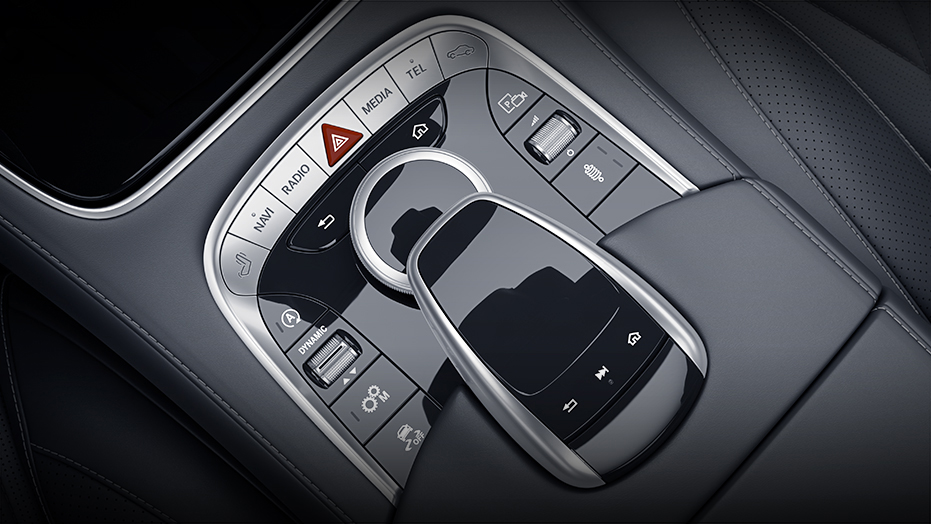 COMAND system with touchpad controller AMG S65