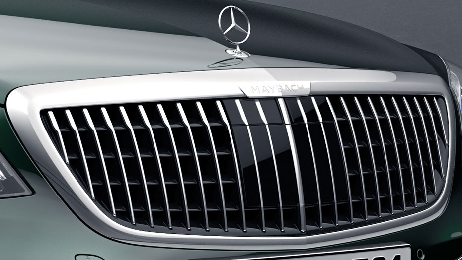New Maybach grille