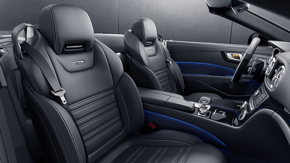 AMG Exclusive Nappa leather upholstery