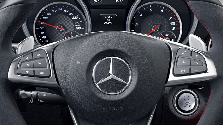 AMG-enhanced 9G-TRONIC transmission