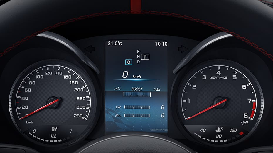 Analogue gauges with high-resolution multifunction display