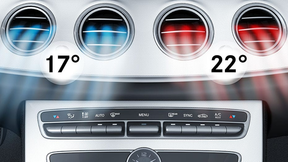 THERMOTRONIC automatic climate control