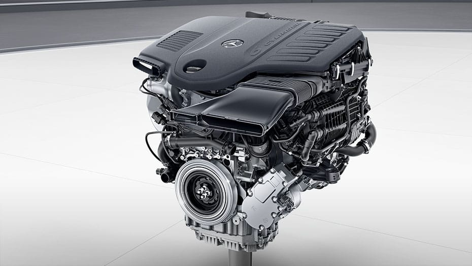 3.0L inline-6 biturbo engine with EQ Boost