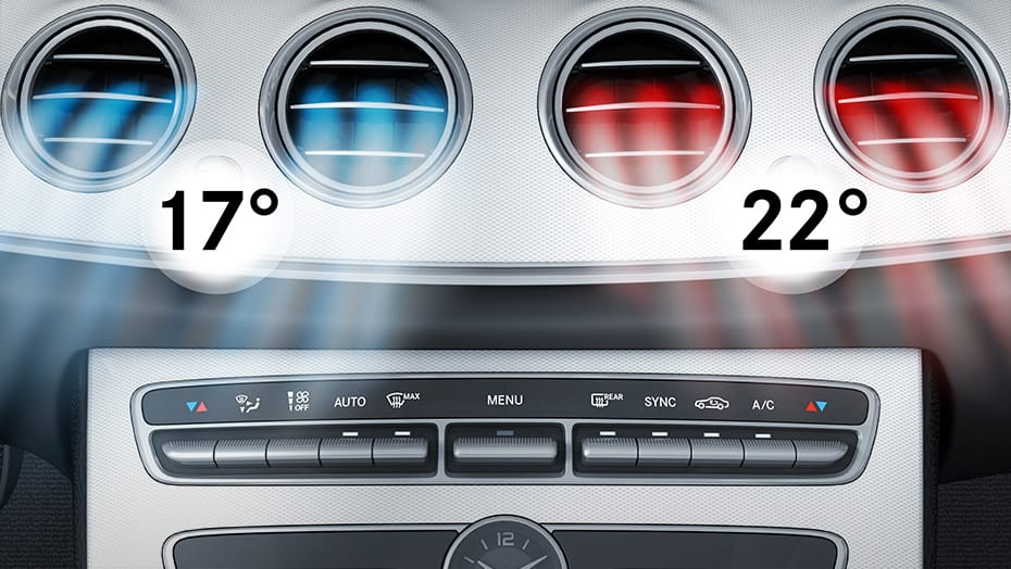 THERMATIC dual-zone automatic climate control