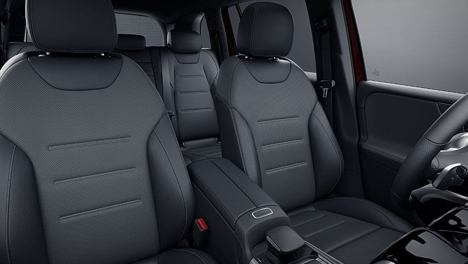Sport front seats