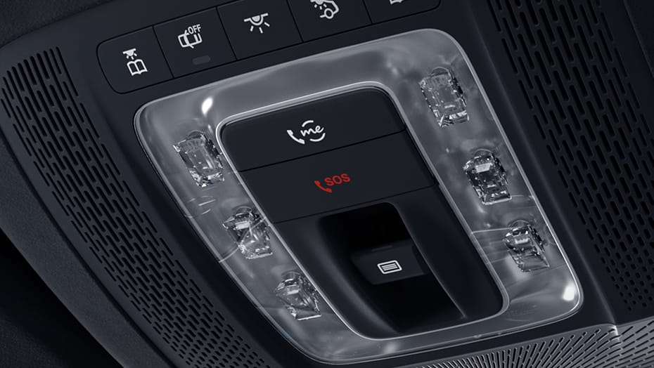 In-vehicle, one-touch calling features