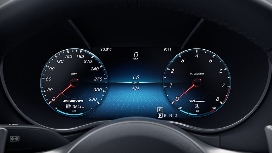 12.3-inch digital instrument cluster