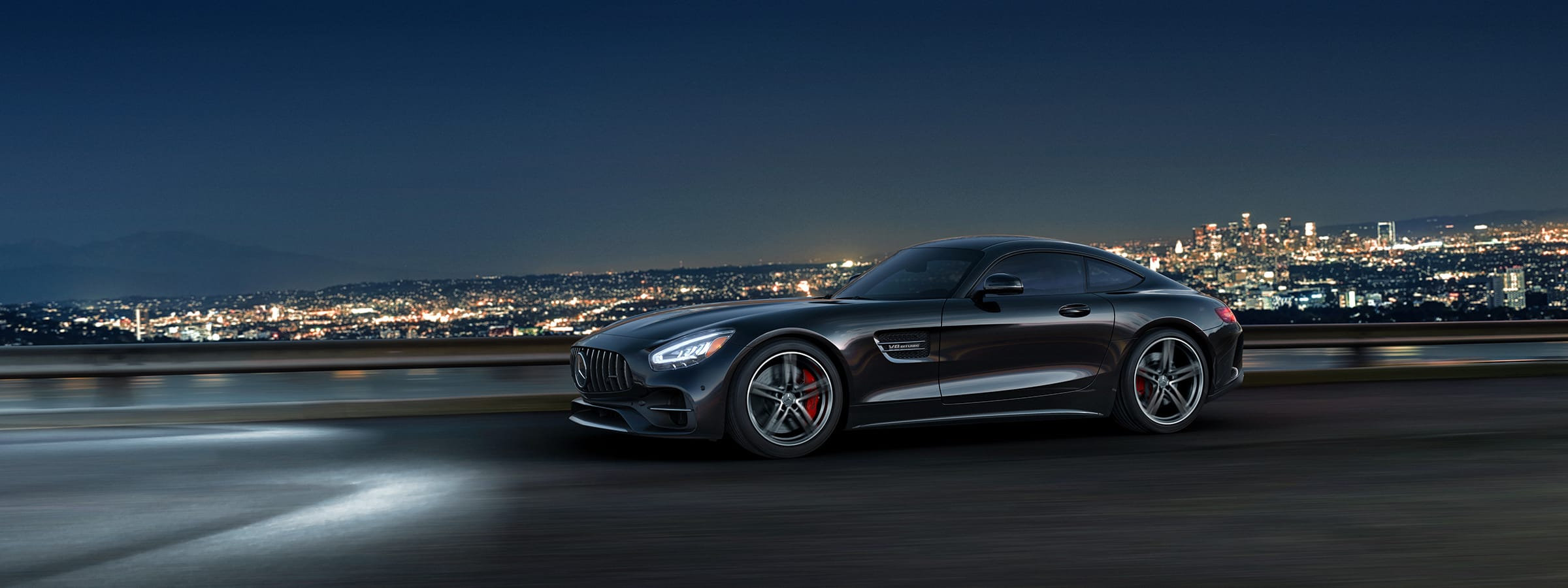 Mercedes Amg Gt Coupe High Performance Sports Car