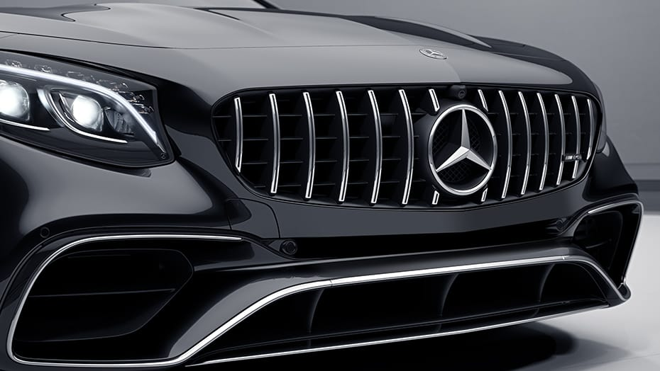 AMG-specific grille