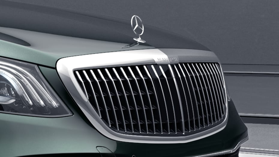 Maybach grille