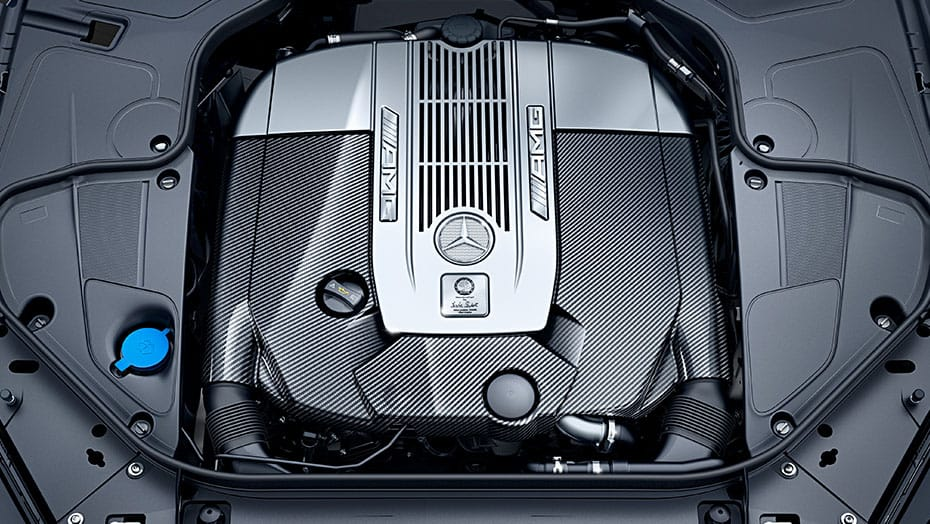Handcrafted AMG 6.0L V12 biturbo engine