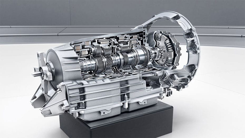 AMG SPEEDSHIFT PLUS 7-speed transmission