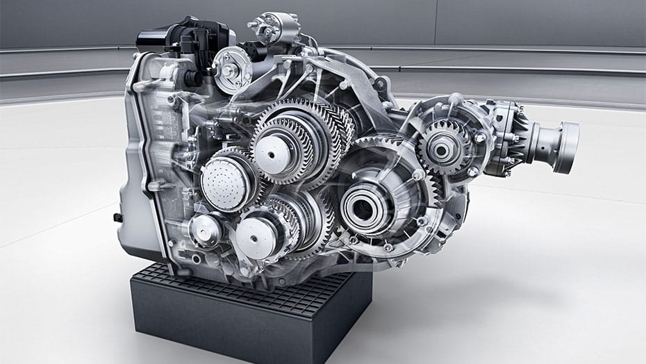 AMG SPEEDSHIFT DCT 7-speed dual-clutch transmission