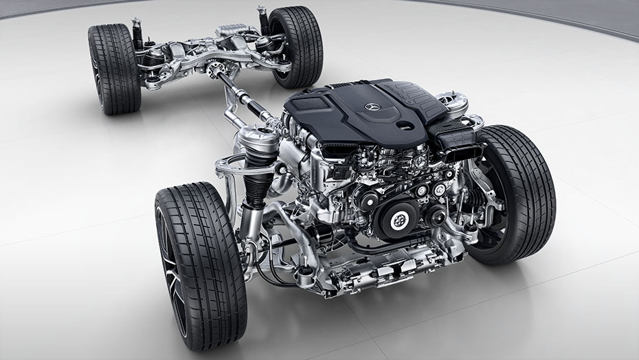 4MATIC fully variable all-wheel drive