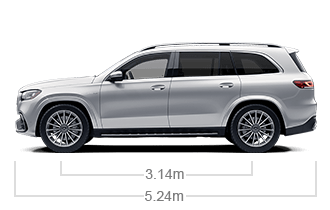 vehicle side view dimensions