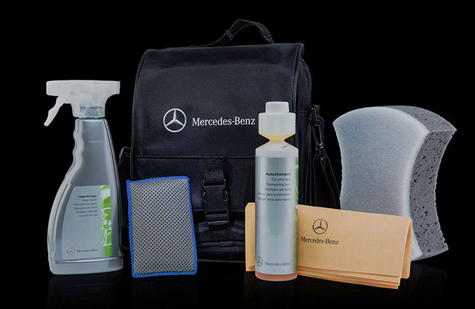 Genuine car care products mercedes benz - Mercedes benz exterior car care kit ...