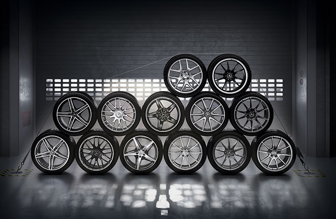 Wheels and Tires | Mercedes-Benz