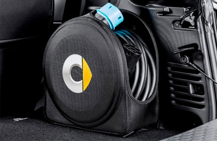 smart EQ fortwo - Cable storage