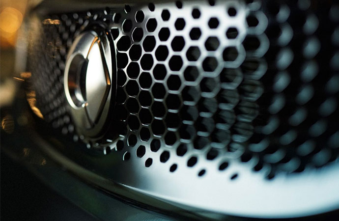 Image of a smart grille