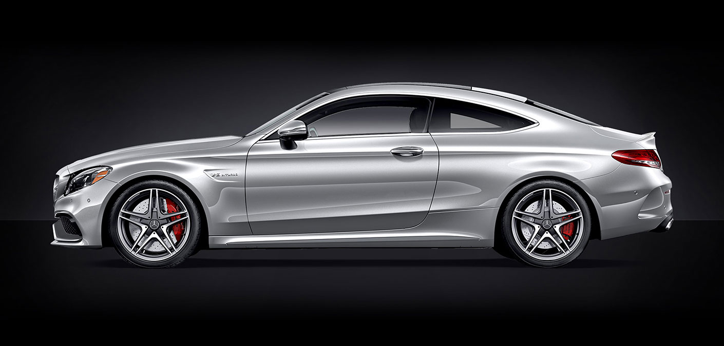 2018 Mercedes-AMG C-Coupe Design