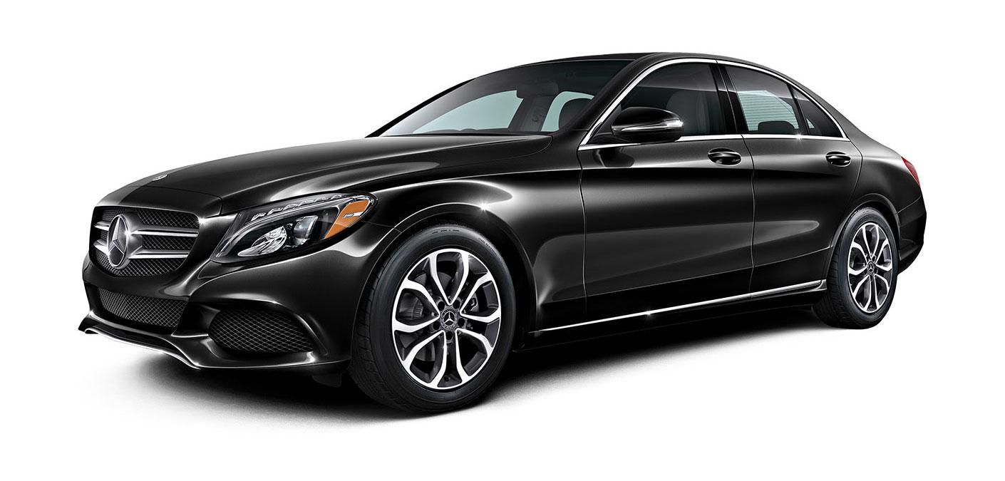 2018 c class sedan mercedes benz for Mercedes benz c300 black
