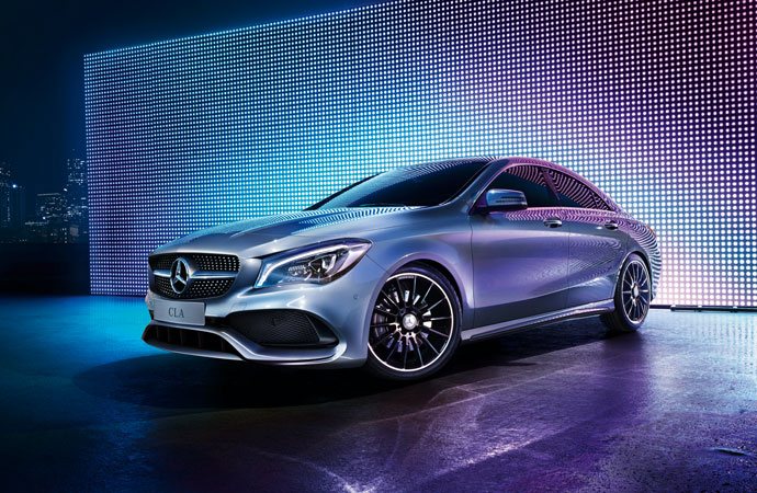 Design du Coupé CLA 2018