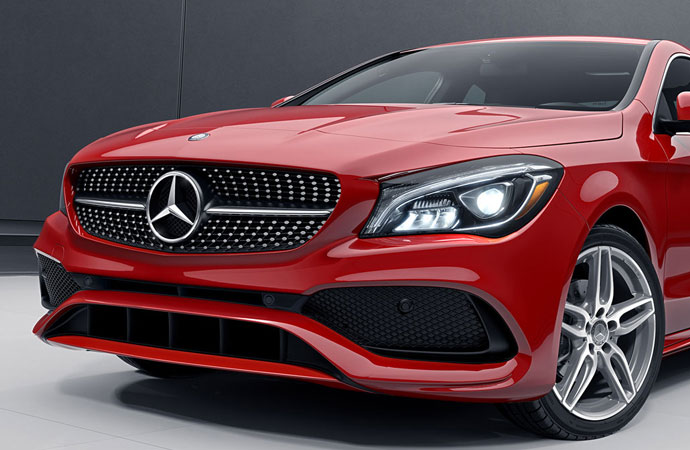 2018 CLA Coupe Design