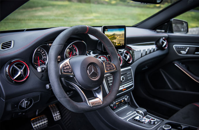2018 CLA Coupe Gallery ...