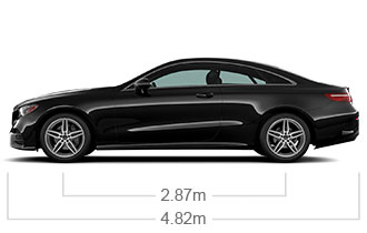 2018 e class luxury coupe mercedes benz - S class coupe dimensions ...