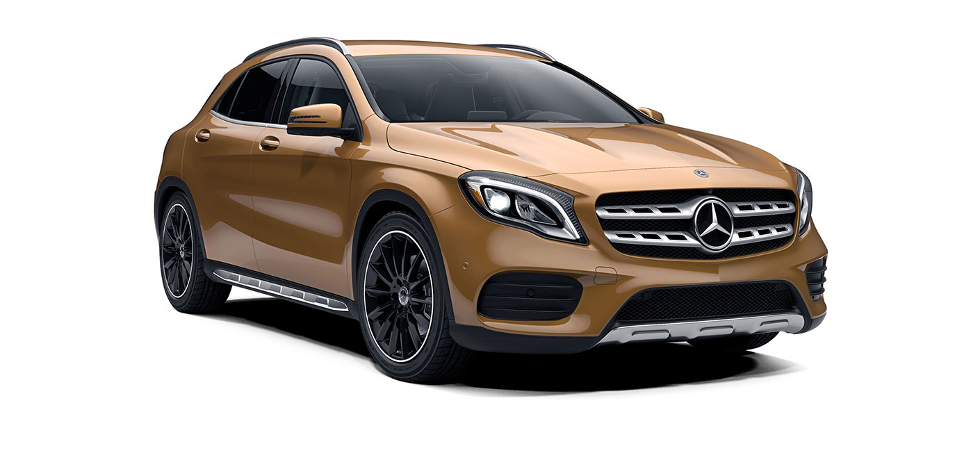 2018 GLA SUV Design