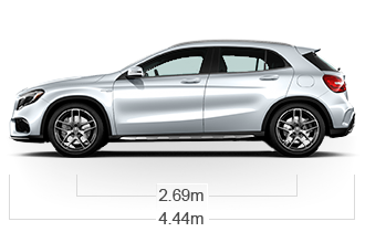 GLA45W4 Side Image
