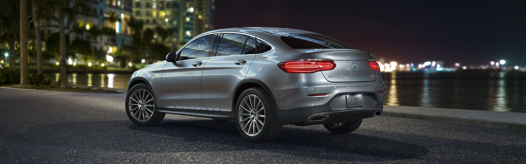 2018 Midsize Glc 4matic Coupe Mercedes Benz