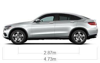 2018 midsize glc 4matic coupe mercedes benz - S class coupe dimensions ...