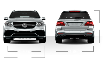 GLE63W4S Front/back Image