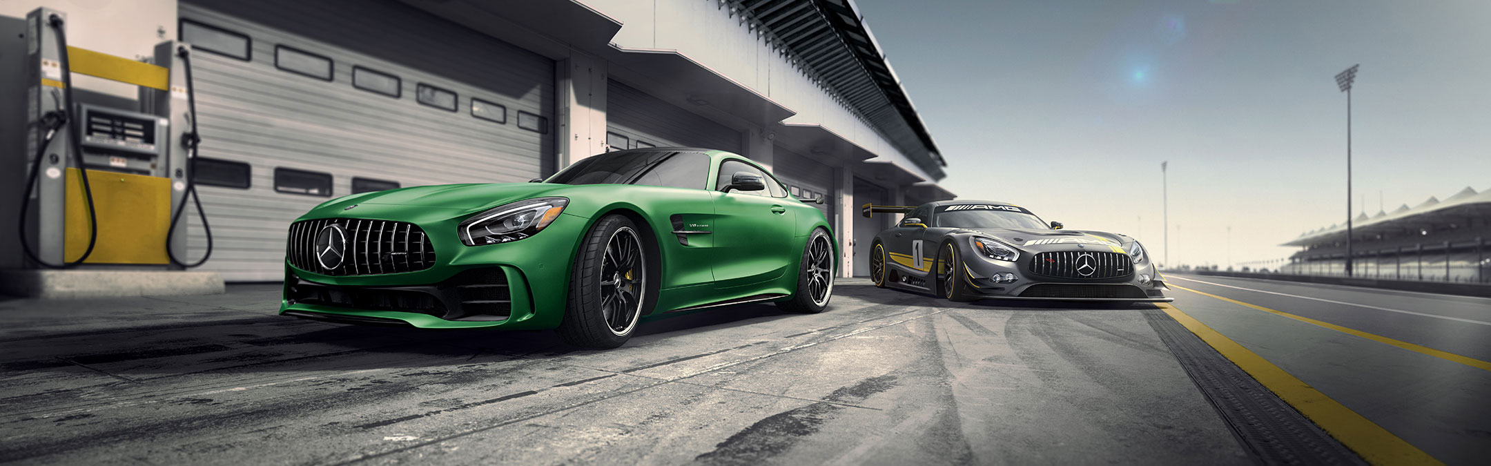 2018-Mercedes-AMG GT R Coupe-Performance