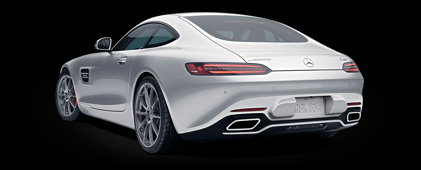 2018 Mercedes-AMG GT, GT S and GT C Coupe Design