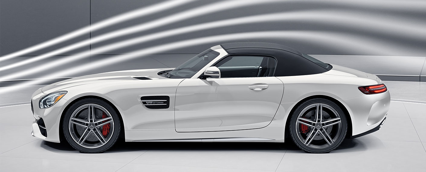 2018 mercedes amg performance gt roadster sports car for Embrace by mercedes benz