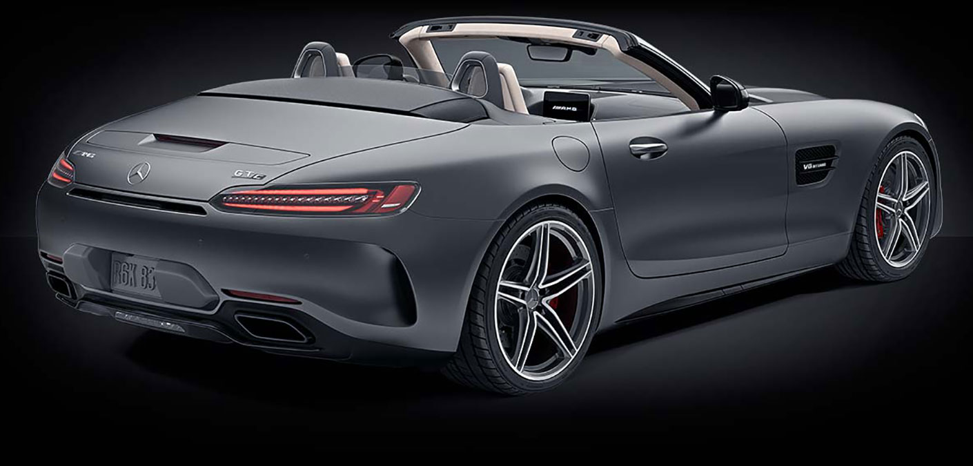 2018 Mercedes Amg Performance Gt Roadster Sports Car
