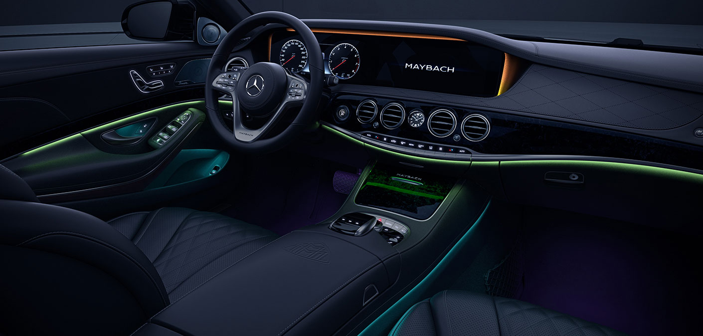 Innovation de la Mercedes-Maybach 2018